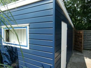Slaapruimte bungalow 't Schuurke Zeeland