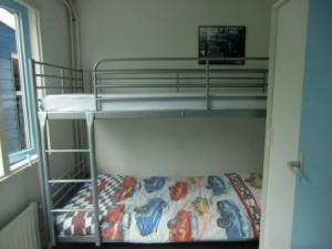 Slaapkamer bungalow 't Schuurke Zeeland