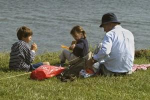 Bungalow Zeeland 't Schuurke, vissen in de Westerschelde